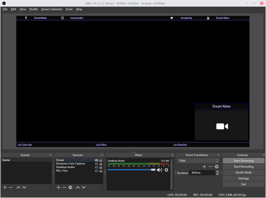 Stream Maker Overlay Maker Banners Panels And More